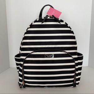Kate Spade Dawn Large Backpack Sailing Stripe
